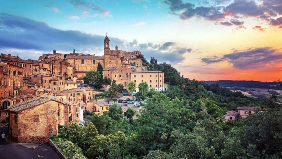 Montepulciano, wine and cheese