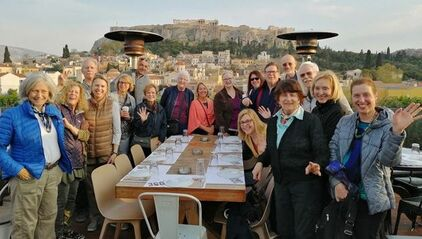 special interest groups traveling to Greece